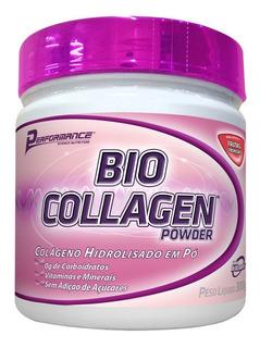 Bio Collagen Colágeno Sabor Morango 300g Performance