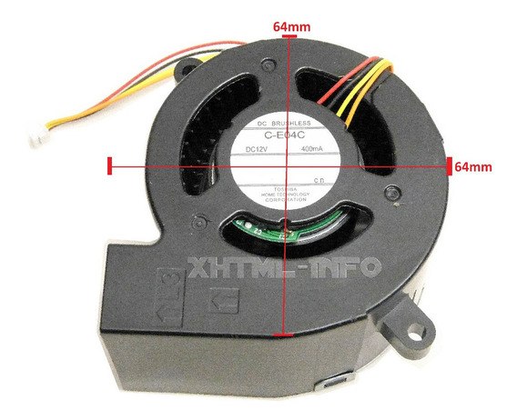 Cooler Do Bloco Otico Projetor Epson S12+ X14+ H434a H430a *