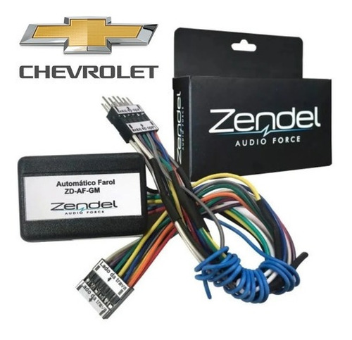 Automatizador De Faróis Zendel Chevrolet Acima 2012 Zd-af-gm