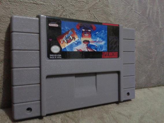 Hack Street Fighter 2 Zero Hyper Fighting Super Nintendo Sne