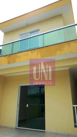 Sobrado Com 3 Dormitórios À Venda, 250 M² Por R$ 590.000 - Vila Alto De Santo André - Santo André/sp - So0565