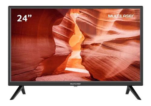Imagem 1 de 4 de Tv Multilaser 24 Led Hd Hdmi Usb Av Dnr Tl037