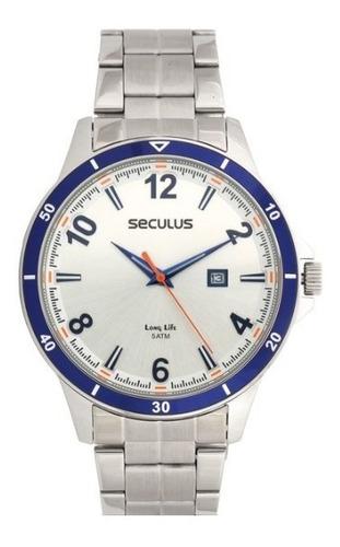 Relógio Masculino Seculus Long Life 20528g0svna2= 56