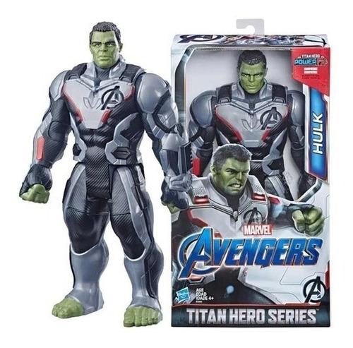 Hulk Figura De Ação Marvel Vingadores Titan Hero - Hasbro