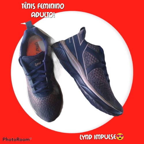 Imagem 1 de 1 de Tênis Feminino Lynd