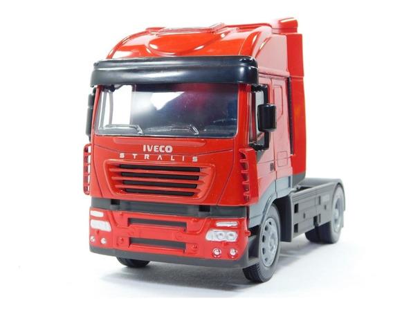 Miniatura Caminhão Iveco Stralis Toco 4x2 Escala 1:32