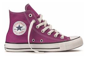Converse All Star Core Bota Roxo Beringela Adulto Infantil