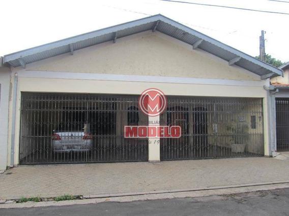 Casa Com 3 Dormitórios Para Alugar, 170 M² Por R$ 2.000,00/mês - Vila Rezende - Piracicaba/sp - Ca2782