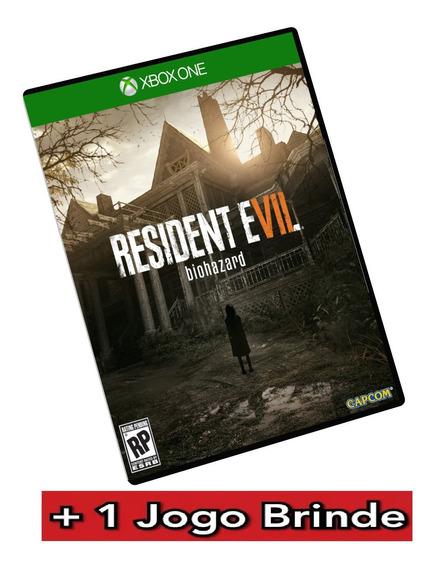 Resident Evil 7 Gold Xbox One Mídia Digital + Brinde