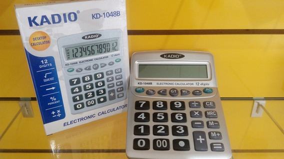 Calculadora 12 Digitos Kadio