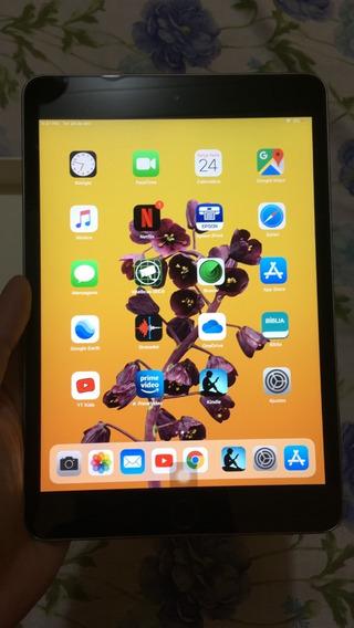 Aplle iPad Mini 3 Cinza Espacial 128 Gb Semi Novo