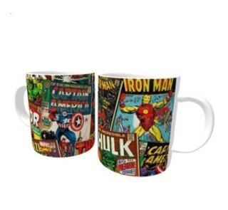 Caneca Vingadores Comics Hq Color Marvel