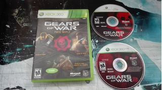 Gears Of War Triple Pack Completo Para Xbox 360,excelente