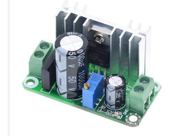 Módulo Regulador De Tensão Linear Ajustável Lm317-t