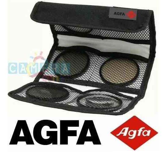 Kit Macro Agfa Close-up Fullhd Alta 67mm 72mm Resoluçao Hoya