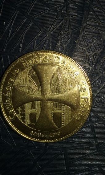 Medalla Catedral De Notre Dame De Paris 2010