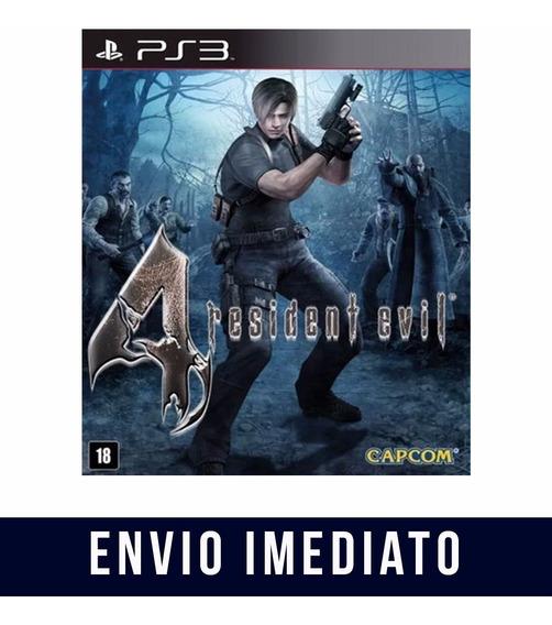 Resident Evil 4 Ps3 Psn Midia Digital Envio Imediato