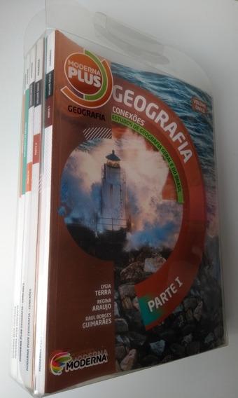 Box Completo 6 Livros Geografia Conexões Ed. Moderna Plus