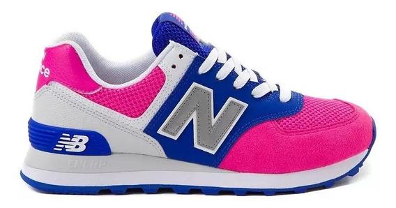 Tenis New Balance 574 Mujer Dama Deportivos Correr Gym Mama