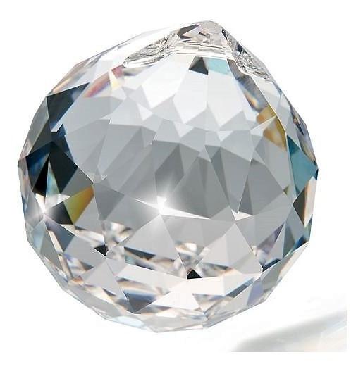 65 Bola Esfera De Cristal K9 Feng Shui 40mm (4,0 Cm) Lustre