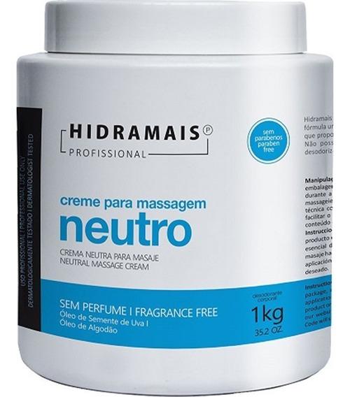Creme De Massagem Hidramais Neutro 1kg