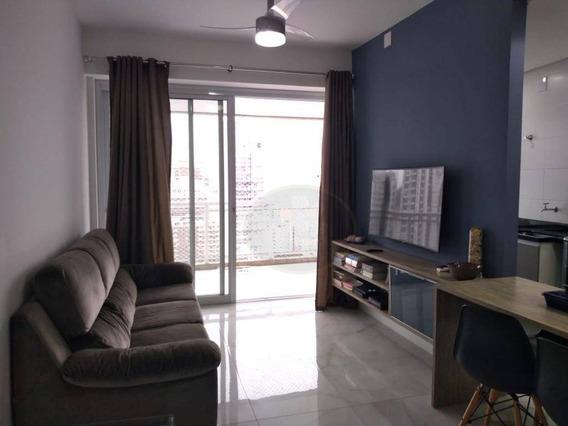 Apartamento À Venda, 95 M² Por R$ 1.250.000,00 - Gonzaga - Santos/sp - Ap3509