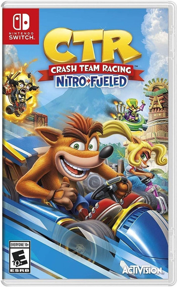 Crash Team Racing Nitro Fueled Switch Midia Física Lacrado