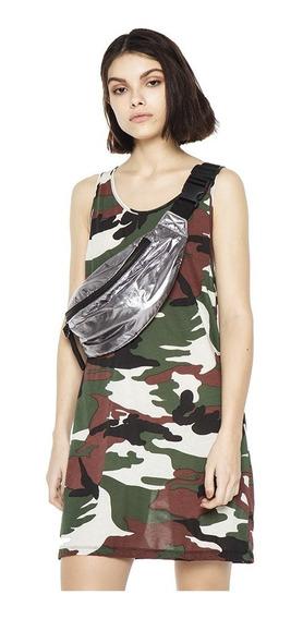 Vestido Soldier Casual Mujer Complot