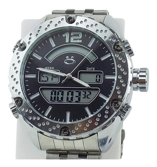 Relógio Masculino Spaceman Orizom Analógico + Caixa Rospd20