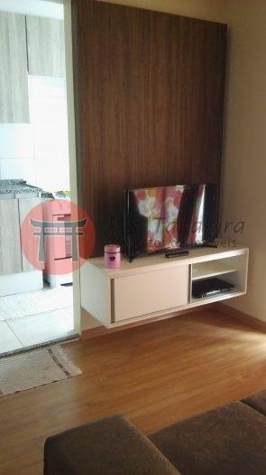 Apartamento Bairro Jardim São Pedro, 2 Dorm, 1 Vagas, 43 M, Semi Mobiliado! - 3493