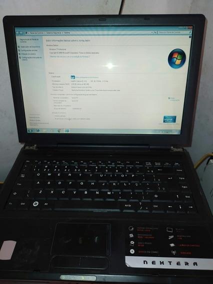Notebook Nextera Funcionando