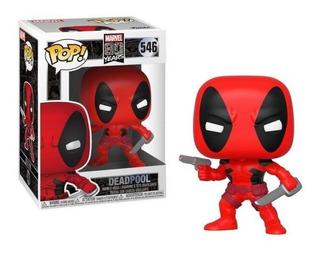Funko Pop! Deadpool 546 - Marvel 80 Años