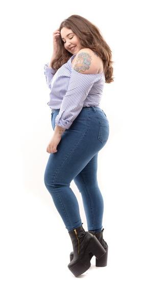 Camisa Hombro Descubierto De Fibrana ,rayada Y Lisa 5 Talle