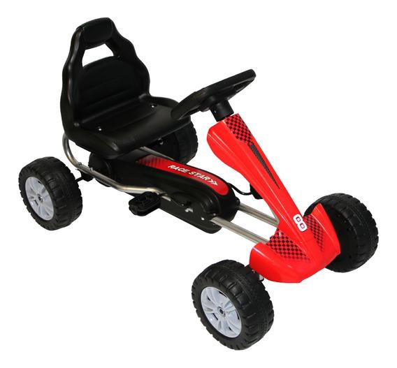 Go Kart De Fierro Rojo Rs-9921