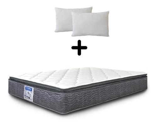 Colchón King Size Restonic Ortopédico Spring Pillow Ap Envío Gratis