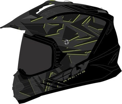 Fly Racing 73-7015l Unisex-adult Full-face-helmet-style F2 M