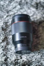 Rokinon 35mm F/1.4 Af E-mount