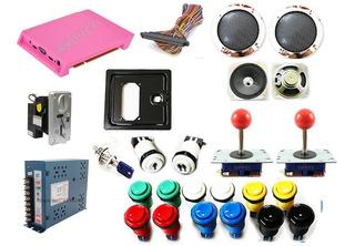 Kit Maquina Arcade Completo 2 Player 1299 Juegos / Impotec