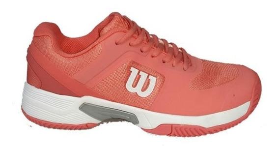 Wilson Zapatillas Set Tennis 2.0 Mujer Coral Dxt Envíos