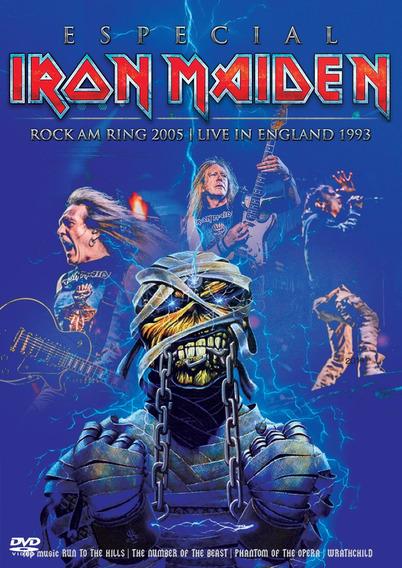 Dvd Iron Maiden Especial Rock Am Ring 2005 E England 1993