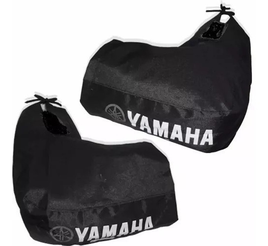Manga Cubre Manos Moto Frio Impermeable Honda Yamaha Lisos!