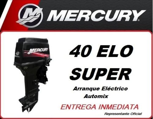 Mercury 40 Elo Super 3 Cil 0hs. 2021 E/inmediata