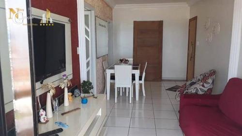 Apartamento Com 1 Dormitório À Venda, 56 M² Por R$ 235.000,00 - Maracanã - Praia Grande/sp - Ap4228