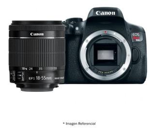 Camara Canon Eos Rebel T6i Con Lente 18-55mm Nueva