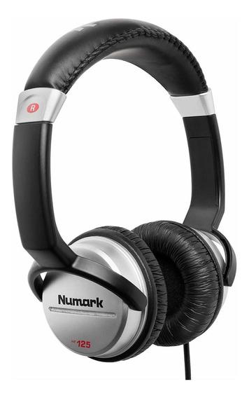 Fone De Ouvido Numark Hf125 On Ear Com Nf E Garantia