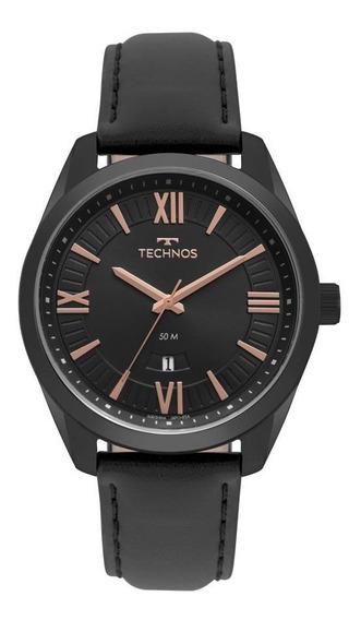 Relógio Technos Masculino Ref: 2115msp/4p Classic Preto