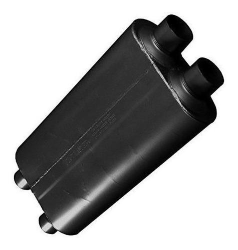 Flowmaster 527504 50 Grande Bloque Muffler - 2.75 Dual In /
