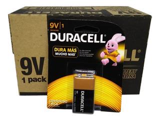 Baterías Duracell 9v Caja X 12 Baterías