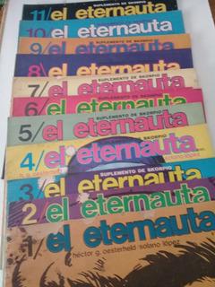 El Eternauta Record 11 Fascículos Comp. Blanco Y Negro 1976