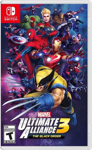 Marvel Ultimate Alliance 3 Switch Mídia Física Pronta Entreg